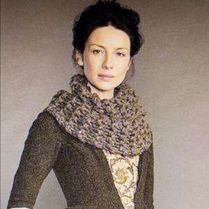 Outlander inspired infinity scarf,🧣cowl, shrug
